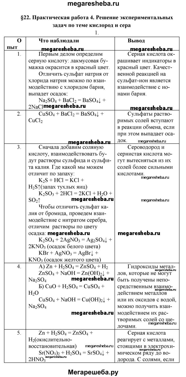 Практическая на 4 решение эксперементальных задач химия решение задач по физике книга скачать